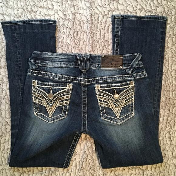 Vigoss Denim - Vigoss Jeans   Dallas Slim Bootcut   27x31